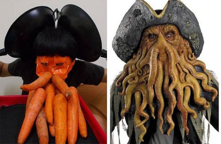 Davy Jones - piratas del caribe