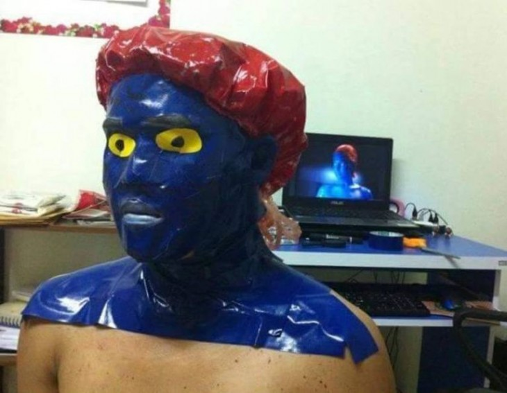 Cosplay de Mystic - x men