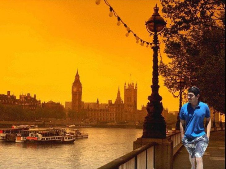 photoshop en paseo por londres