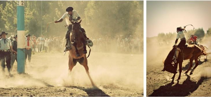 Día Nacional del Gaucho en Villa La Angostura, Provincia Neuquen, Argentina