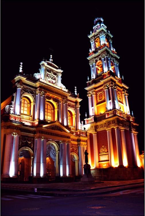 La Basílica menor y Convento de San Francisco en la Ciudad de Salta, Argentina