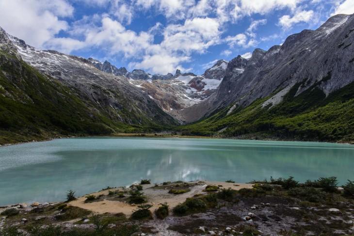 Laguna Esmeralda en Ushuaia, Argentina