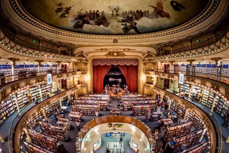 Librería El Ateneo Grand Splendid en Bueno Aires, Argentina