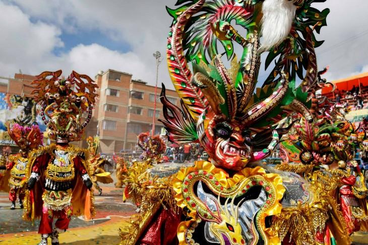 La diablada baile típico de Bolivia