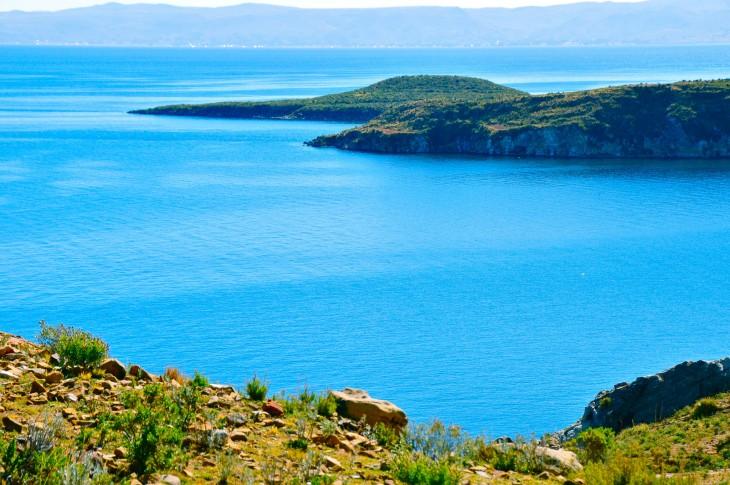 Isla del Sol en el Lago Titicaca, Bolivia
