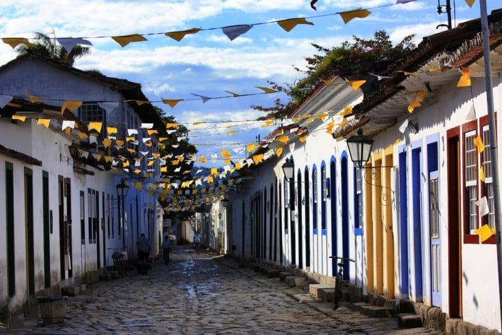 Paraty en Río de Janeiro, Brasil