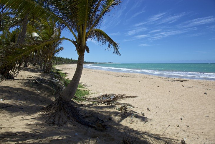 Playa Sirena en Maceió, Brasil