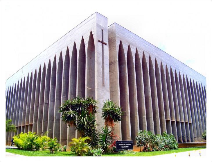 Santuario Dom Bosco en Brasília, Brasil