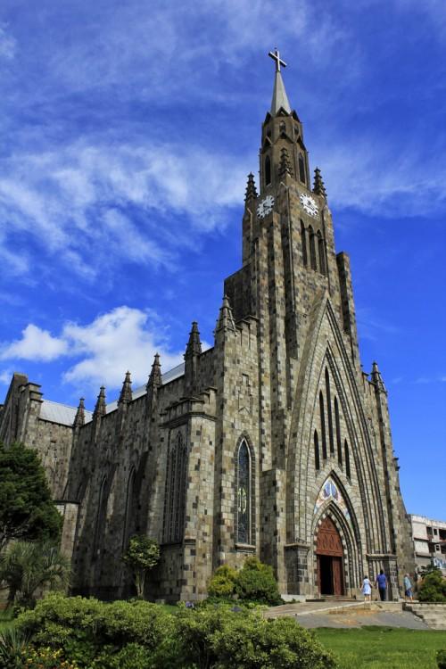 Catedral de Pedra, Canela en Río Grande do Sul, Brasil