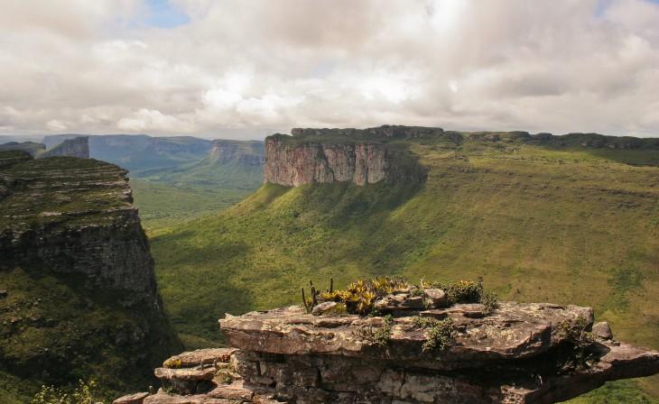 Parque Nacional de Chapada Diamantina en el centro del estado Bahía, Brasil