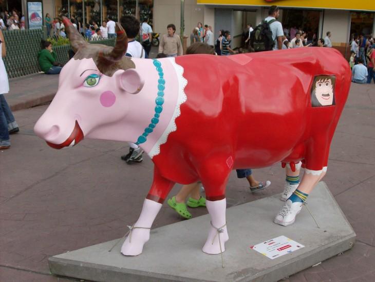 La giganta - CowParade Costa Rica 2008