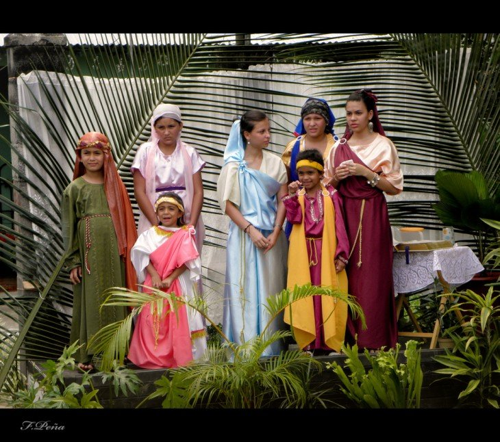 Procesión de Semana Santa en Guapiles, Costa Rica