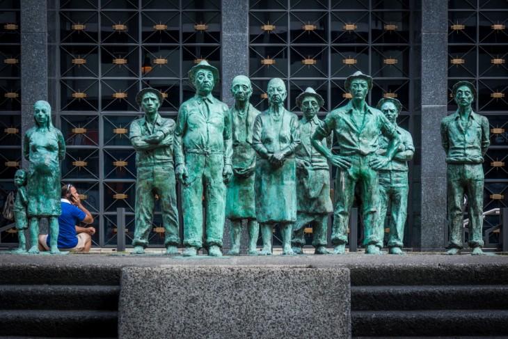 Monumento a los presentes en San José, Costa Rica