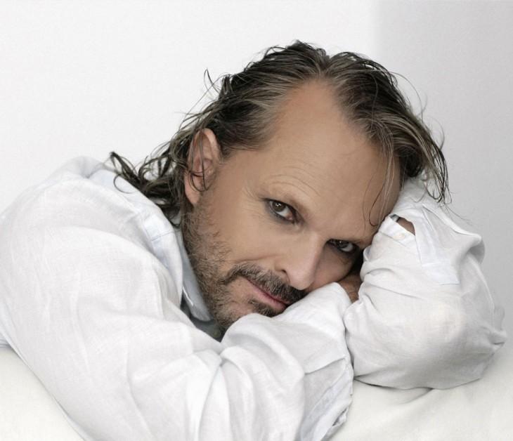 Miguel Bosé el cantante y actor español