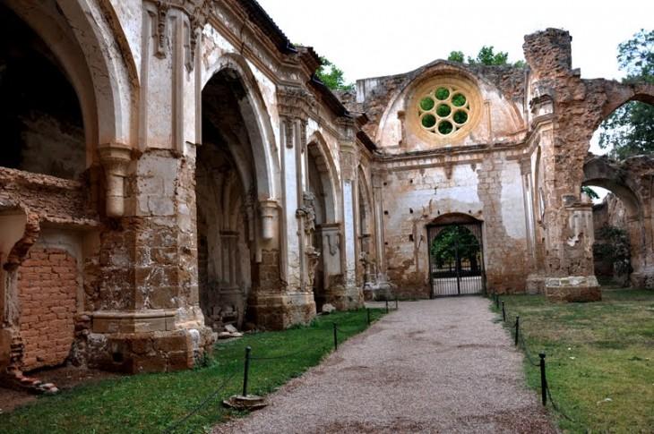 Monasterio de Piedra ubicado en Zaragoza, España