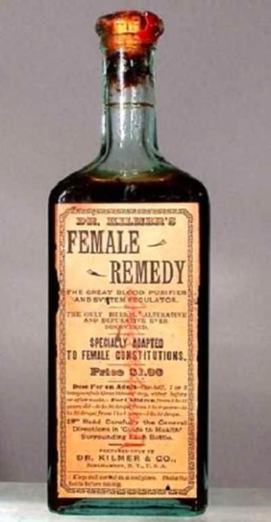 remedio para las dolencias femeninas
