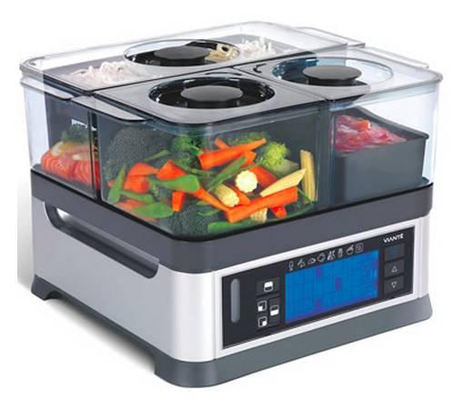 Multihervidor de verduras digital