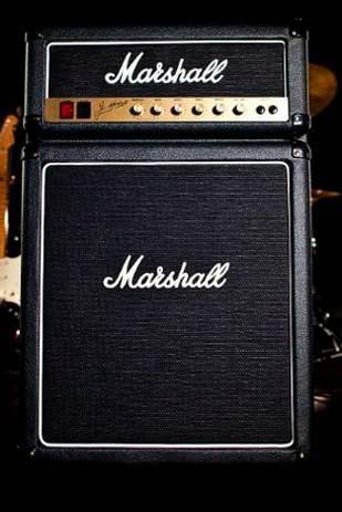 Frigobar estilo amplificador Marshall