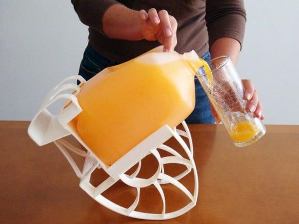 Porta garrafón para galones de jugo