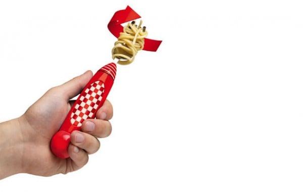 Tenedor para spaguetti