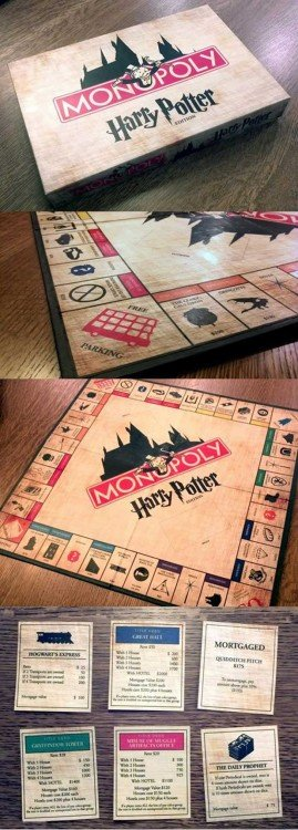 Juego de mesa Monopoly de Harry Potter