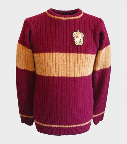 "Suéter de quidditch de Gryffindor ""Harry Potter"""