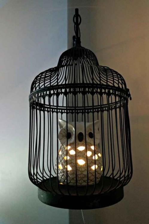 "lámpara de Hedwing ""Harry Potter"""