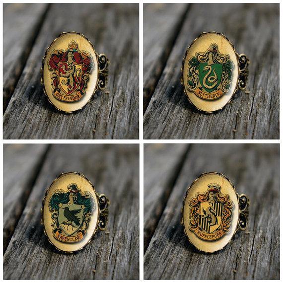 Anillos de las casas de Hogwart