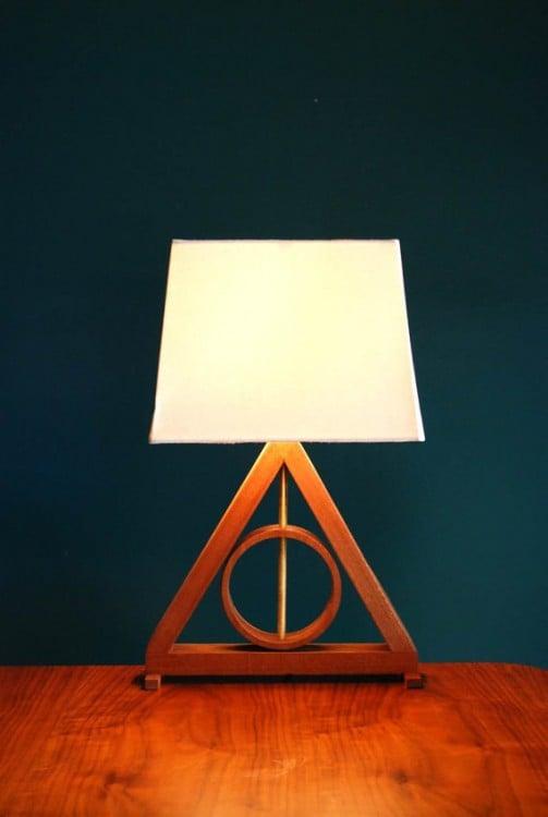 "Lámpara de las reliquias de la muerte ""Harry Potter"""