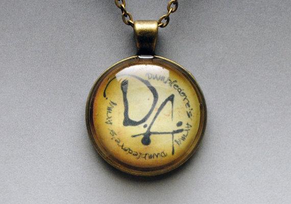 """Collar del ejercito Dumbledore """"Harry Potter"""""""