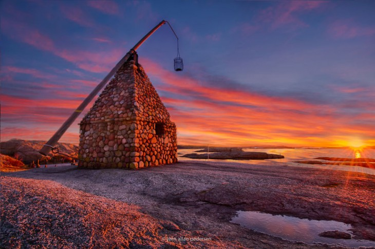 Tjome, en el fin del mundo, Noruega