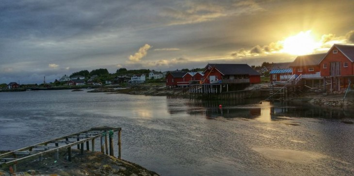 Bud, costa oeste de Noruega