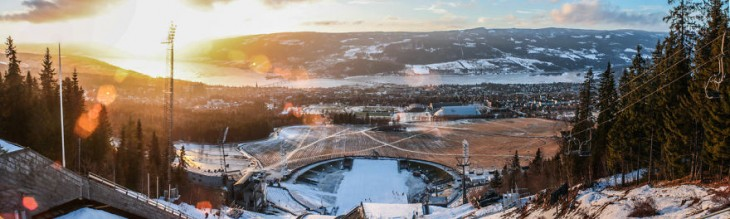 Estación de saltos de Sky de Lillehammer, Noruega