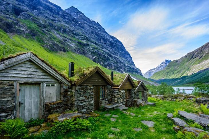 Casas Fjord, Noruega