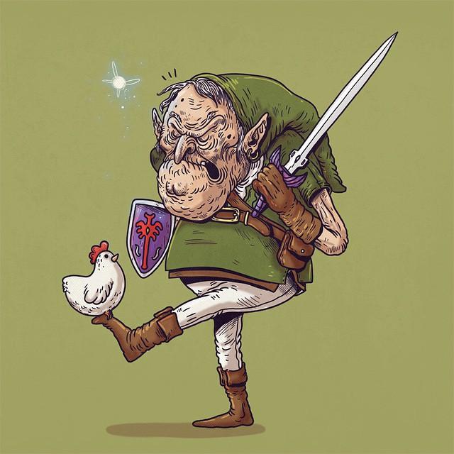 """Link """"Leyenda de Zelda"""""""