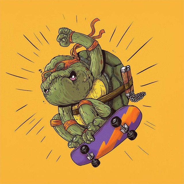 "Michelangelo ""Tortugas Ninja"""