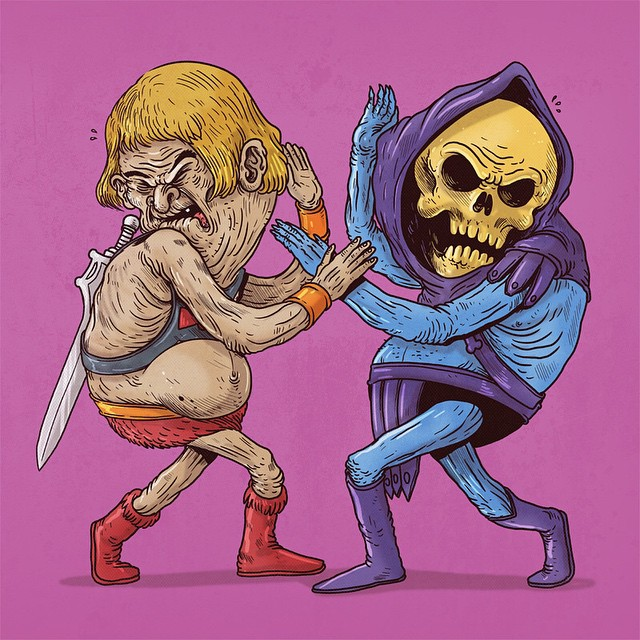 He Man & Skeletor