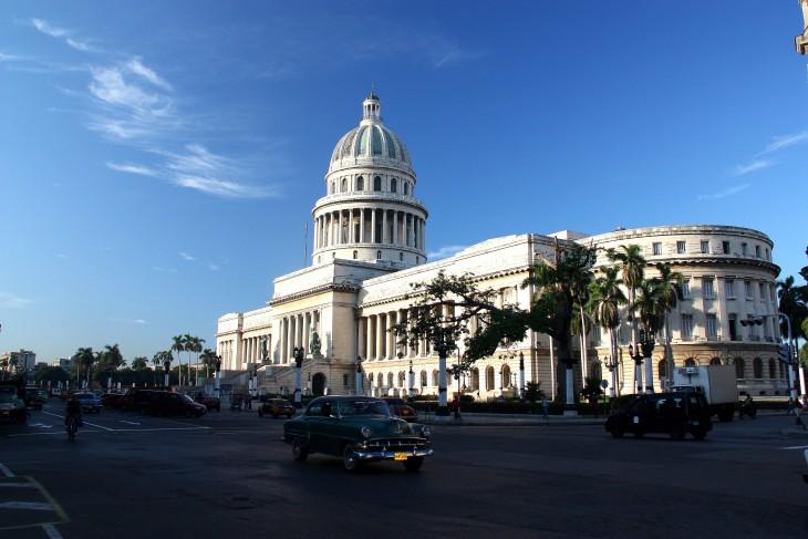 CAPITOLIO LA HABANA VIEJA CUBA