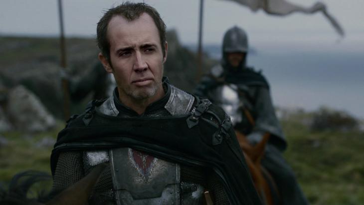 Stannis Baratheon con la cara de Nicolas Cage