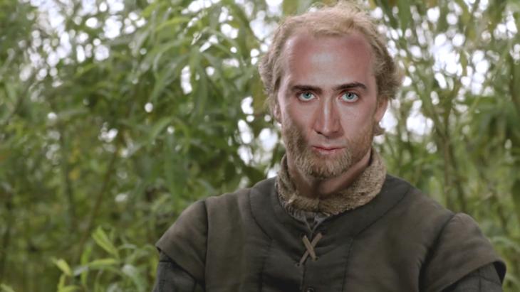 Jorah Mormont con la cara de Nicolas Cage
