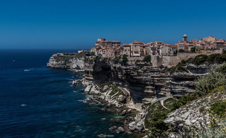 Isla Córcega, Bonifacio, Francia