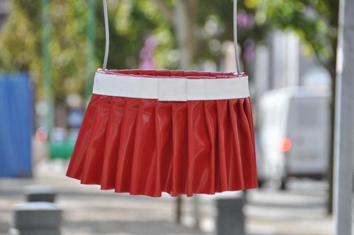 Columpio con el diseño de falda