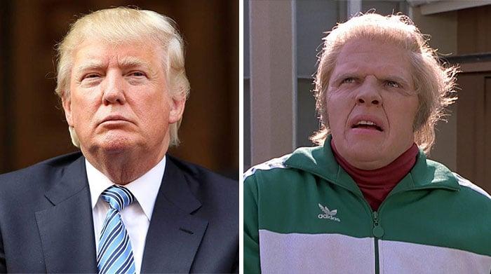 Donald Trump se parece Biff de volver al futuro