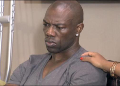 Cara de un hombre llorando
