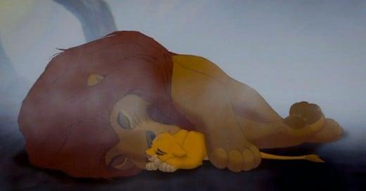 Quien no recuerda soltar una lagrima y que se le afloja el moco con algunas escenas de las películas de Disney?