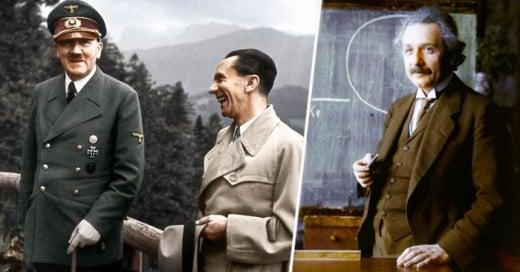 Impresionantes Fotografías retocadas de estos personajes que han cambiado la historia de la humanidad