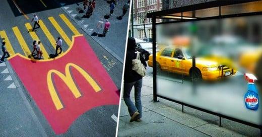 Cada marca de productos y servicios buscan siempre nuevas formas de marketing para estar vigentes en el mercado, aqui la muestra de como se utilizan las calles como medio para lograr campañas de MKT muy interesantes