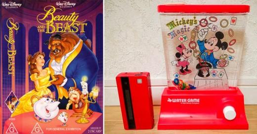 Estos juguetes son un buen ejemplo de como se comercializaba y vendía Disneu sus productos