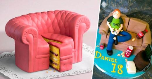 El arte de hacer este tipo de pasteles traspasa la imaginación convirtiéndola en una hermosa y sabrosa realidad
