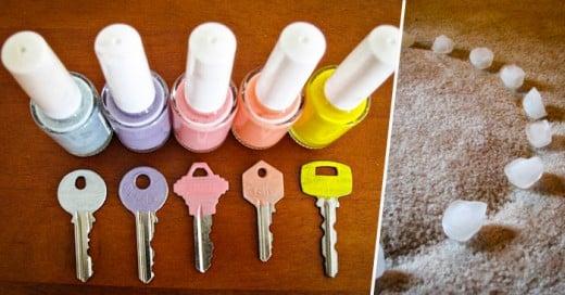Aquí una muestra de cosas comunes que nos ayudan dentro de la limpieza y organización de nuestra casa
